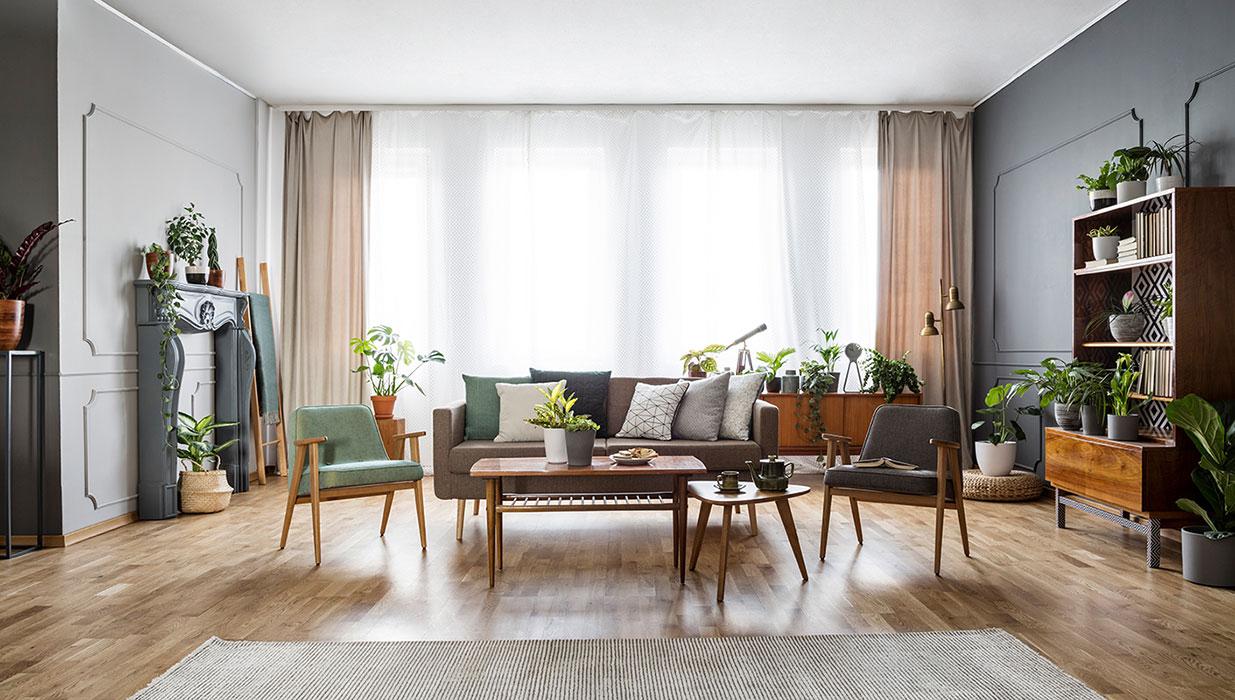 Wohnzimmer Ideen Vintage Stil